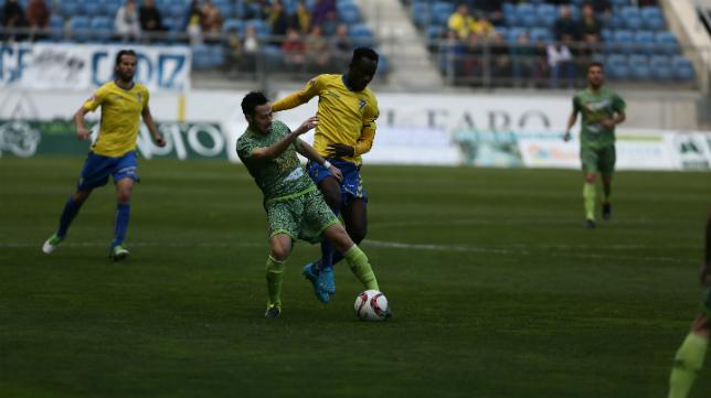 El Cádiz CF sigue desaprovechando oportunidades