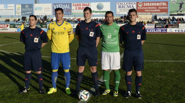 El Cádiz CF perdió 1-0 en el Romero Cuerda el año pasado.