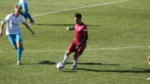 Carlos Calvo jugó el amistoso ante el Zenit en El Rosal