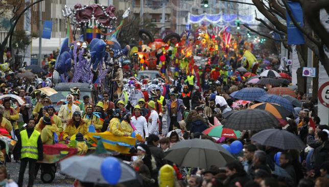 El Cadiz CF estará presente en la cabalgata del Carnaval.