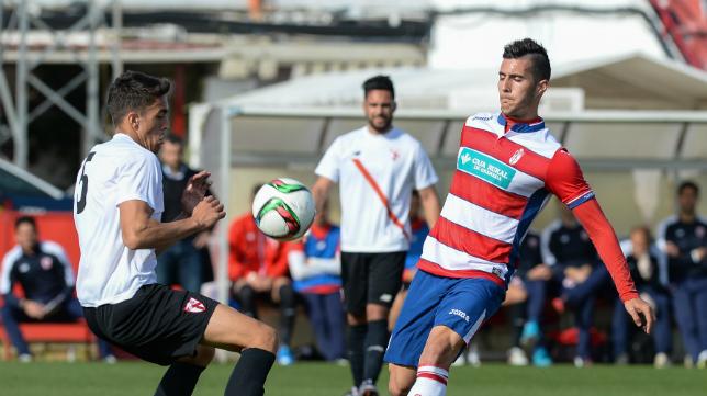 Tomás le empató en el último minuto al Sevilla Atlético.