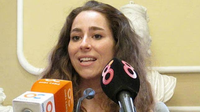 La concejal de Deportes del Ayuntamiento de Cádiz, María Romay.