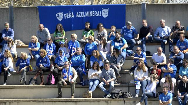 La afición del Linares acudió en masa a Sevilla el pasado fin de semana