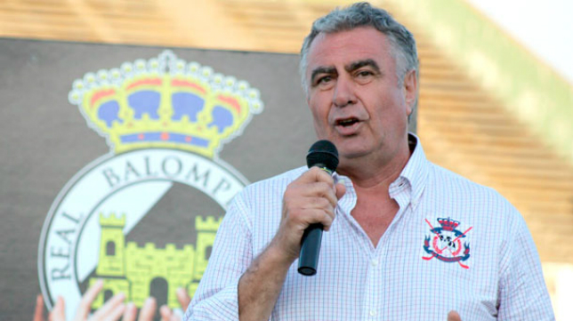 Alfredo Gallardo,, presidente de la Balona (La Línea Digital)