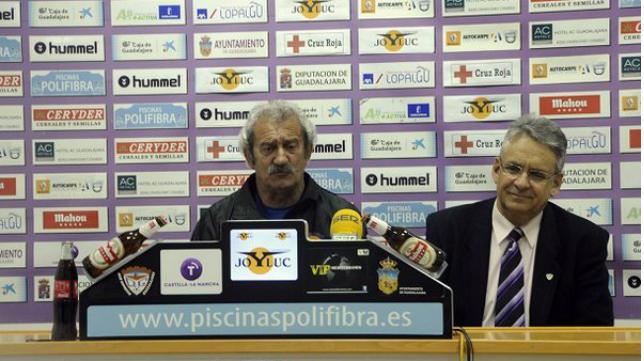 David Vidal no pudo salvar al Guadalajara del descenso a Tercera. / Foto: www.deportivoguadalajara.es