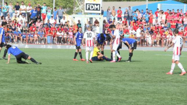 Juan Luis Pulido Santana ha arbitrado más de 100 encuentros en Segunda B