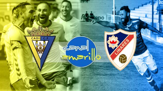 Cádiz CF y Linares se ven las caras en Carranza
