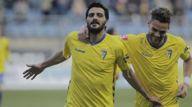 Dani Güiza y Lolo Plá, máximos goleadores del Cádiz CF
