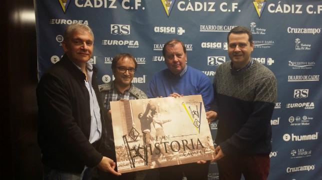 Los historiadores del Cádiz CF
