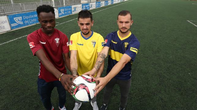 Isaac Nana, Carlos Calvo y Xavi Carmona han contado con minutos.