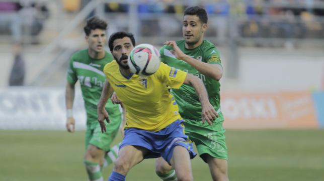 Dani Güiza marcó dos goles ayer y ya suma nueve en Liga.