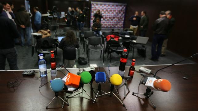La sala de prensa de Carranza acogerá un acto abierto al público.