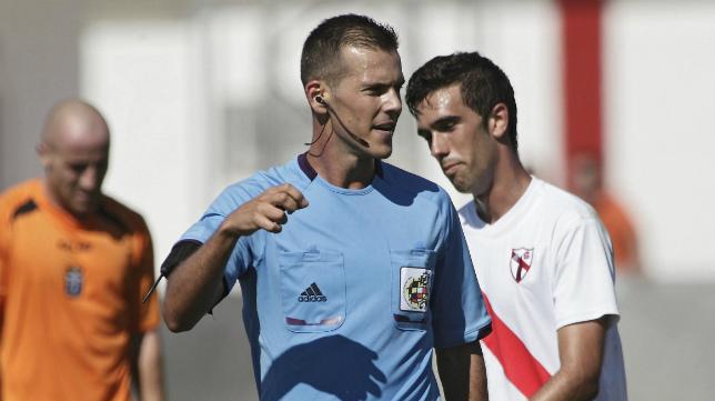 Juan Luis Pulido Santana arbitrará el encuentro entre Cádiz CF y Hércules