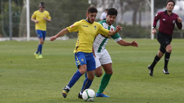El Cádiz CF B jugará por segunda semana consecutiva en El Rosal
