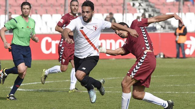 El Sevilla Atlético y el Cádiz CF empataron en la primeras vuelta