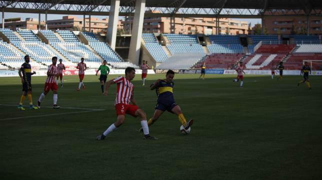 Álvaro García fue el mejor ante el Almería B