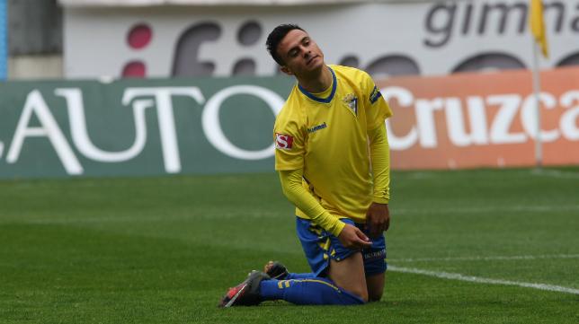 Álvaro García, decepcionado tras la derrota