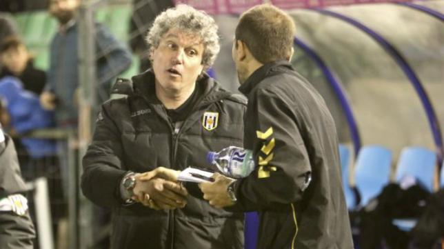 Antonio Gómez, entrenador del Mérida