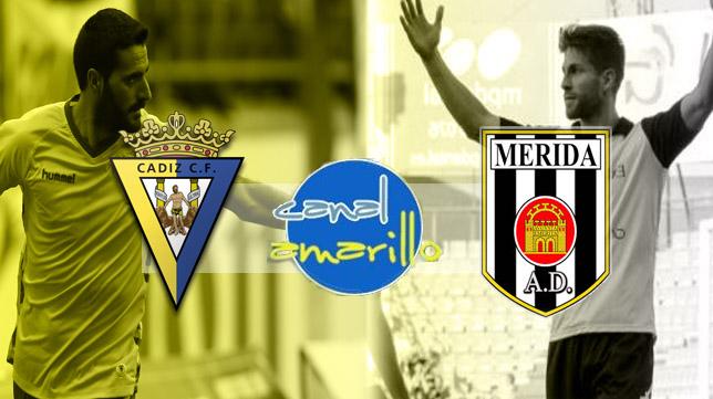 El Cádiz CF busca la victoria ante el Mérida