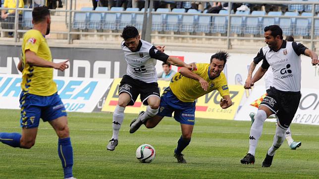 El Cádiz CF se ha dado un nuevo batacazo, esta vez ante el Mérida.