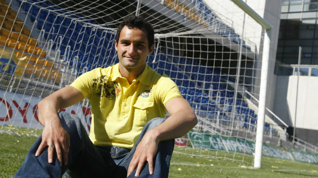 Dani Cifuentes 'Cifu', en su época en el Cádiz CF.