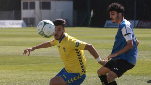El Cádiz CF B no pudo con el Chipiona en El Rosal el pasado fin de semana