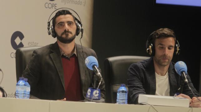 Güiza acudió como invitado al programa de la Cadena Cope junto a Alberto Cifuentes.