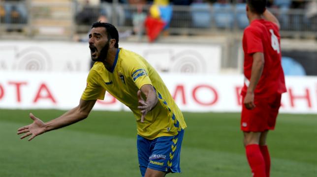 Güiza volvió a marcar en Carranza