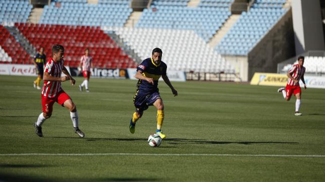 Güiza y el Cádiz CF volverán a pisar el césped del Estadio de los Juegos Mediterráneos de Almería