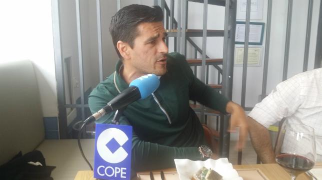 El gaditano Juanito en las tertulias de Cope en el Restaurante De Otero
