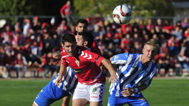 El Jumilla se enfrentó hace escasas jornadas al Murcia.