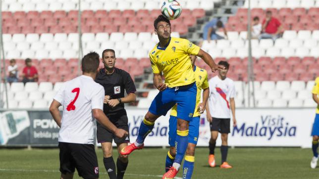 Pérez Muley arbitró el Sevilla Atlético-Cádiz CF de la temporada pasada, con victoria visitante (1-3)