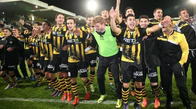 El Barakaldo podría ser el rival del Cádiz CF en la primera eliminatoria del 'play off'