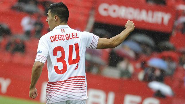 Diego González, en las filas sevillistas.