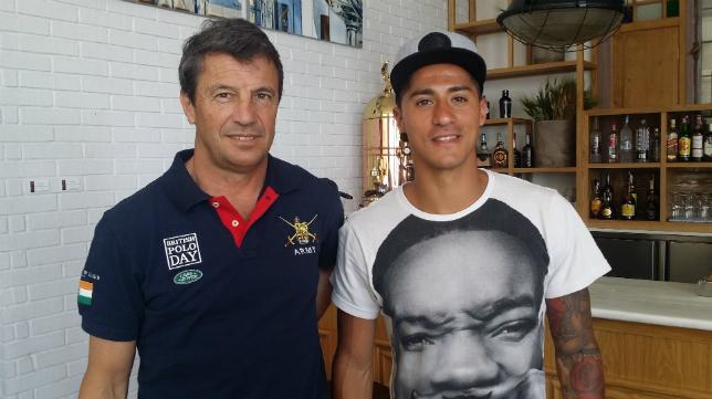 Jose González y Hugo Rodríguez acudieron a las tertulias de 'Deportes Cope Cádiz' en De Otero