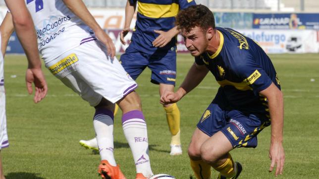 Juanfran jugó el pasado fin de semana con el Cádiz CF en Jaén