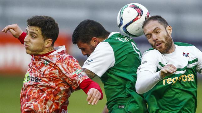 El Guijuelo, pese a perder en A Malata, hizo sufrir al Racing de Ferrol