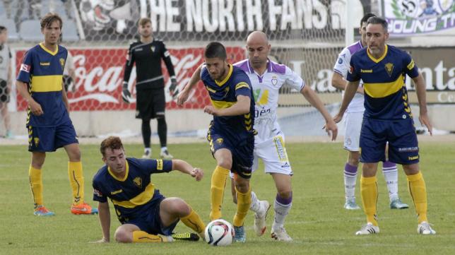 Varios fueron los canteranos del Cádiz CF, entre ellos Sergio, que debutaron en Jaén