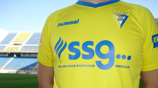 El Grupo SSG ya luce en la camiseta del Cádiz CF