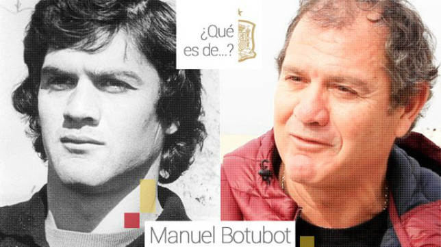 Manolo Botubot en una foto cuando era internacional y en la actualidad (Foto: RFEF)