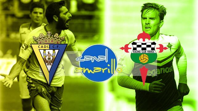 Cádiz CF y Racing de Ferrol disputan el primer partido de la fase de ascenso