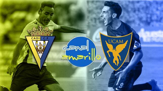 El Cádiz CF necesita ganar ante el UCAM de Murcia