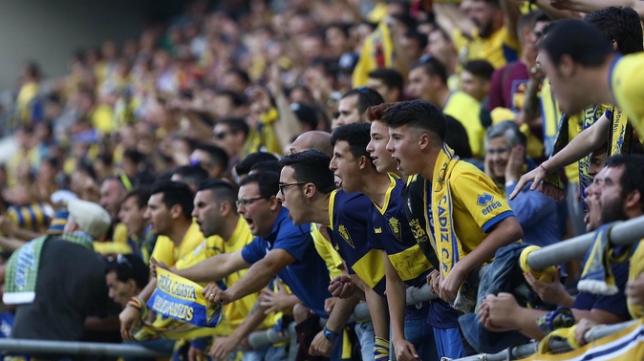 El Cádiz CF solicita el apoyo de su afición ante el Málaga.