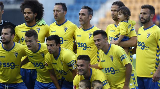 El once inicial del Cádiz CF ante el Racing de Ferrol