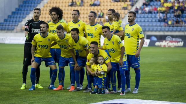 Enésimo once inicial que ha sacado el Cádiz Cf esta temporada.
