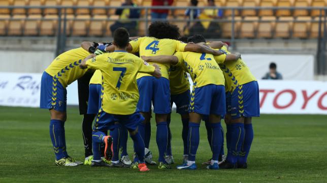 Los jugadores del Cádiz CF son una piña en el 'play off'