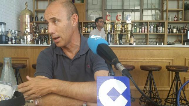 Antonio Calderón, en la tertulia de la cadena Cope.