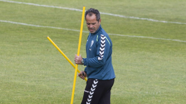 Álvaro Cervera, en El Rosal.
