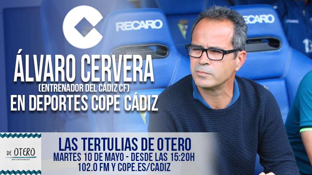 Álvaro Cervera estará presente mañana en los micrófonos de COPE Cádiz