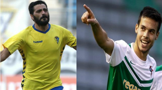 Güiza y Borja Domínguez, las referencias del Cádiz CF y el Racing de Ferrol